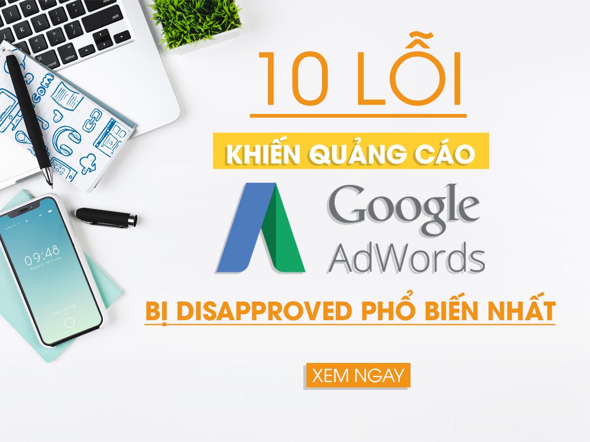 Các lỗi chạy quảng cáo google ads không hiệu quả